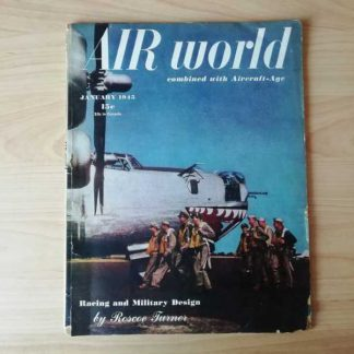 Magazine AIR WORLD de janvier 1945