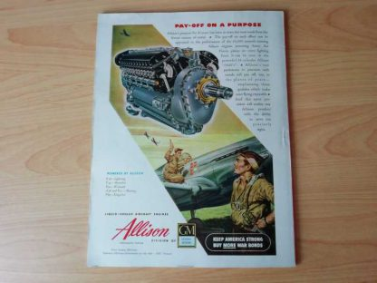 Magazine AIR WORLD de mai 1945