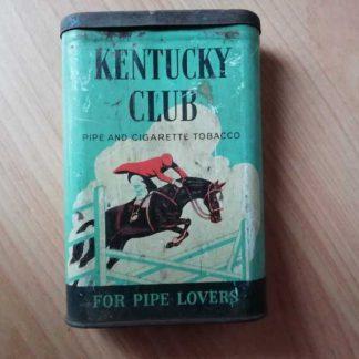 Boite vide de tabac KENTUCKY CLUB