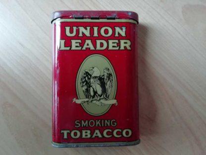 Boite vide de tabac UNION LEADER