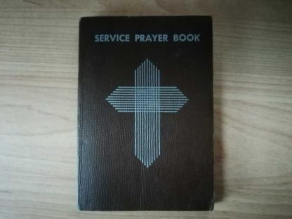 Service Prayer Book daté 1944 nominatif