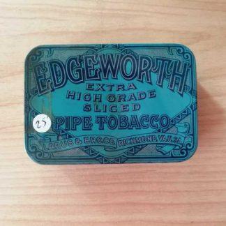 Petite boite vide de tabac EDGEWORTH
