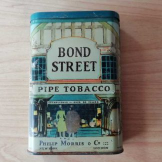 Boite vide de tabac BOND STREET