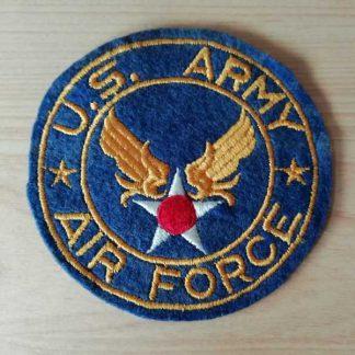 Insigne original US ARMY AIR FORCE sur feutre