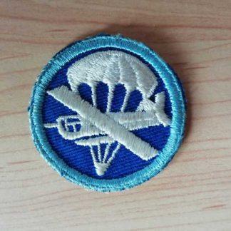 Insigne original de calot infanterie para/glider (tissu)