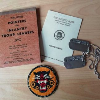 Grouping officier TANK DESTROYER (Lt Ferguson)