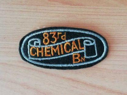 Insigne original 83rd CHEMICAL MORTAR BATTALION