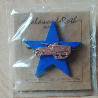 Broche patriotique TANK DESTROYER