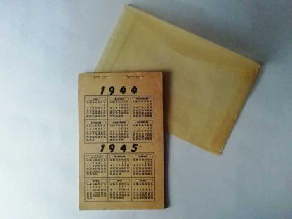 Calendrier PIN UP de 1944/1945