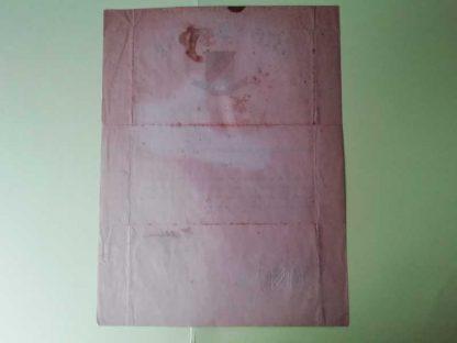 Certificat original du COMBAT INFANTRYMAN nominatif