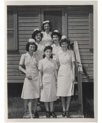 "Robe originale nurse ""SEERSUCKER"""