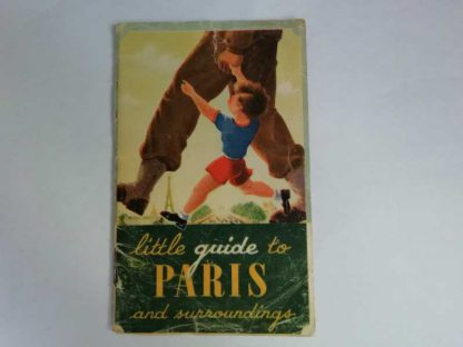 Pocket guide to Paris daté 1945