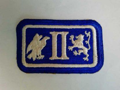 Insigne original 2° ARMY CORPS