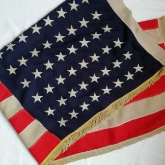 Drapeau US de parade (110 x 170) 48 étoiles cousues
