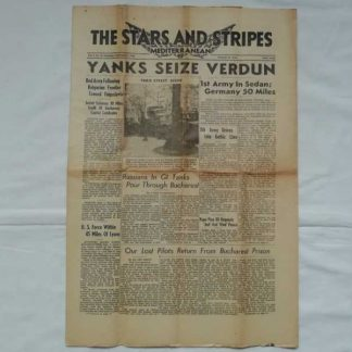 STARS AND STRIPES du 2 septembre 1944