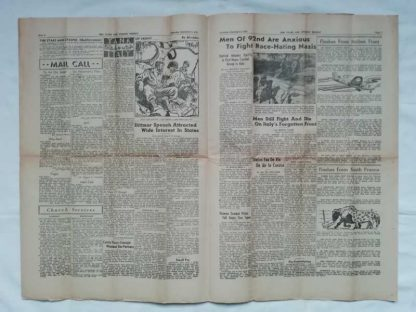 STARS AND STRIPES du 2 septembre 1944