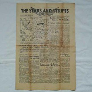 STARS AND STRIPES du 9 septembre 1944