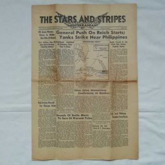 STARS AND STRIPES du 16 septembre 1944