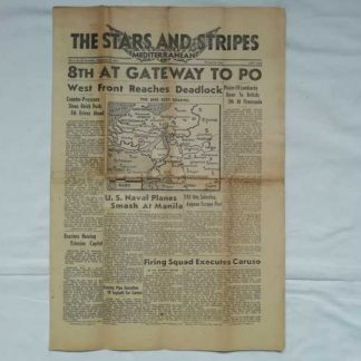 STARS AND STRIPES du 23 septembre 1944