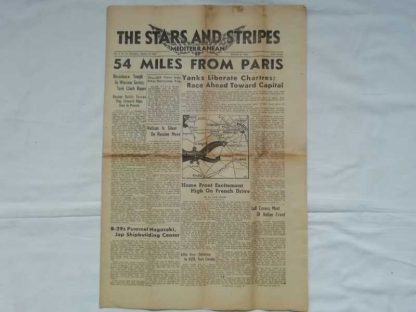 STARS AND STRIPES du 12 aout 1944