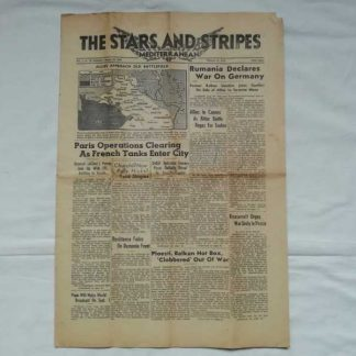 STARS AND STRIPES du 26 aout 1944