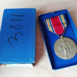 Médaille VICTORY neuve originale en boite