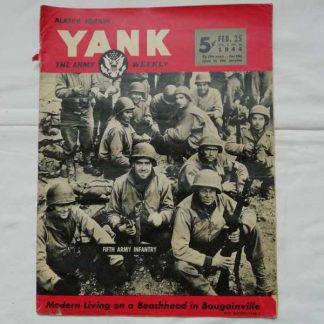 Magazine YANK du 25 février 1944 (5° army)