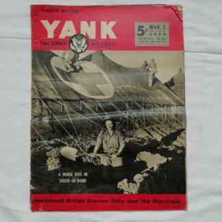 Magazine YANK du 3 mars 1944 (nurse)