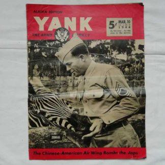 Magazine YANK du 10 mars 1944 (1st sgt)