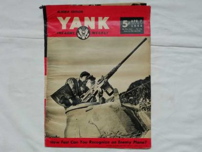Magazine YANK du 7 avril 1944 (12.7)