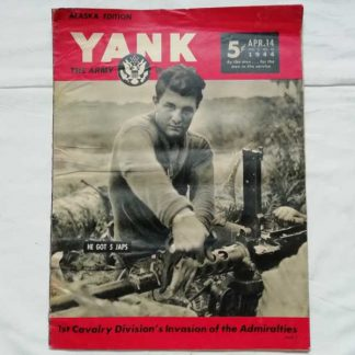 Magazine YANK du 14 avril 1944 (12.7)