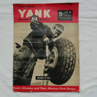 Magazine YANK du 28 avril 1944 (air force)