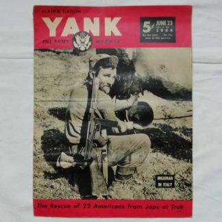 Magazine YANK du 23 juin1944 (thompson)