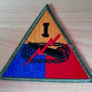 Insigne original 1° ARMORED CORPS