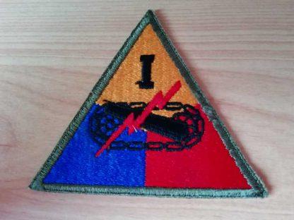 Insigne original 1° ARMORED CORPS