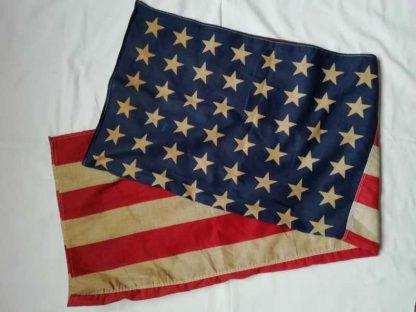 Drapeau US (70x120) 48 étoiles imprimées sur coton