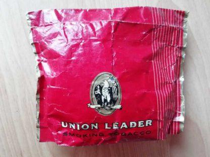 Paquet papier plein de tabac UNION LEADER