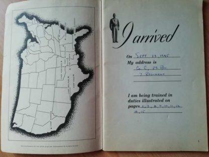 Livret original IAM A DOUGHBOY de 1945
