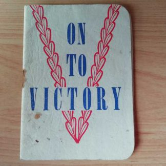 Livret religieux ON TO VICTORY de 1943