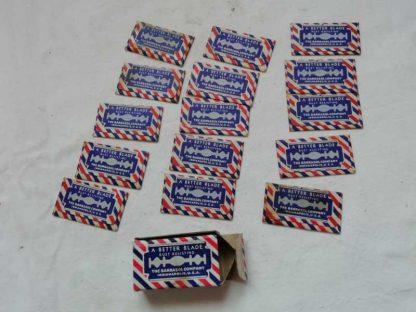 Paquet de 15 lames de rasoir BARBASOL