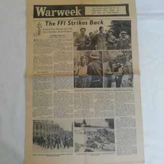 Journal WARWEEK du 14 septembre 1944