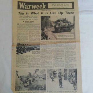 Journal WARWEEK du 21 septembre 1944