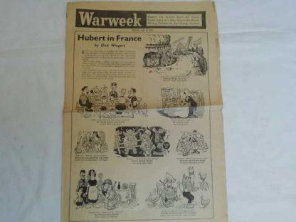 Journal WARWEEK du 28 septembre 1944