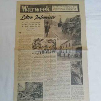 Journal WARWEEK du 28 octobre 1944