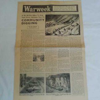 Journal WARWEEK du 23 décembre 1944