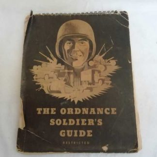 ORDNANCE SOLDIER'S GUIDE nominatif